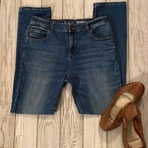 Children's Place skinny jeans Adjust. waist Sz. 16